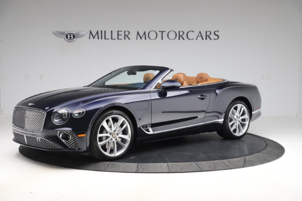 New 2020 Bentley Continental GTC W12 for sale $292,575 at McLaren Greenwich in Greenwich CT 06830 2
