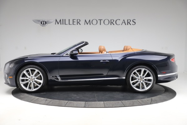 New 2020 Bentley Continental GTC W12 for sale $292,575 at McLaren Greenwich in Greenwich CT 06830 3