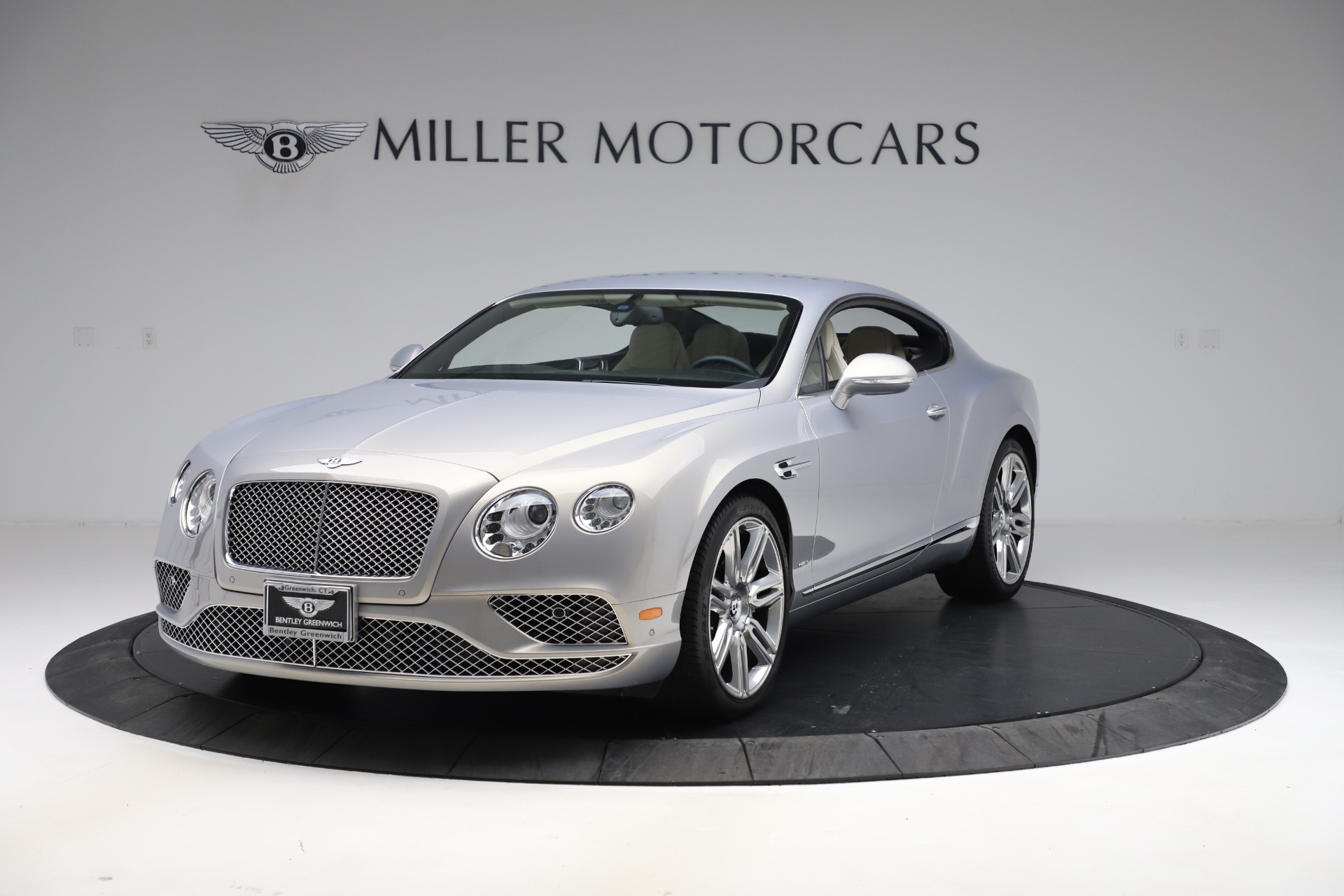 New 2016 Bentley Continental GT W12 for sale $128,900 at McLaren Greenwich in Greenwich CT 06830 1