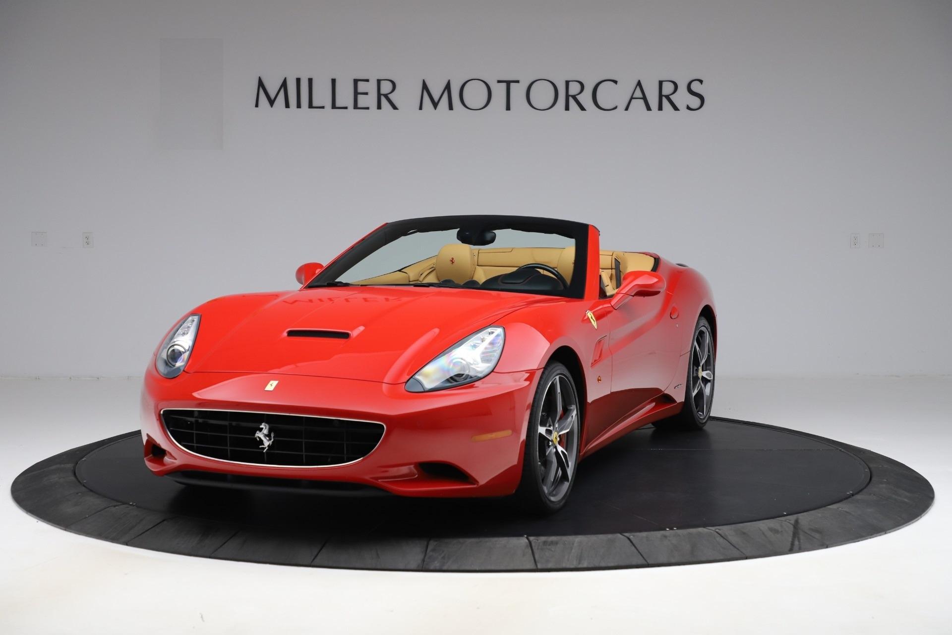 Used 2014 Ferrari California 30 for sale $127,900 at McLaren Greenwich in Greenwich CT 06830 1
