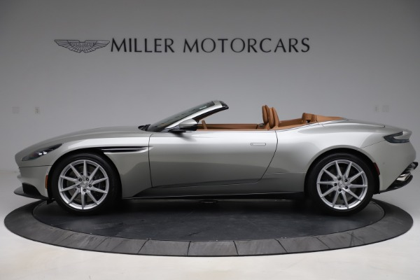 Used 2020 Aston Martin DB11 Volante Convertible for sale $239,900 at McLaren Greenwich in Greenwich CT 06830 4