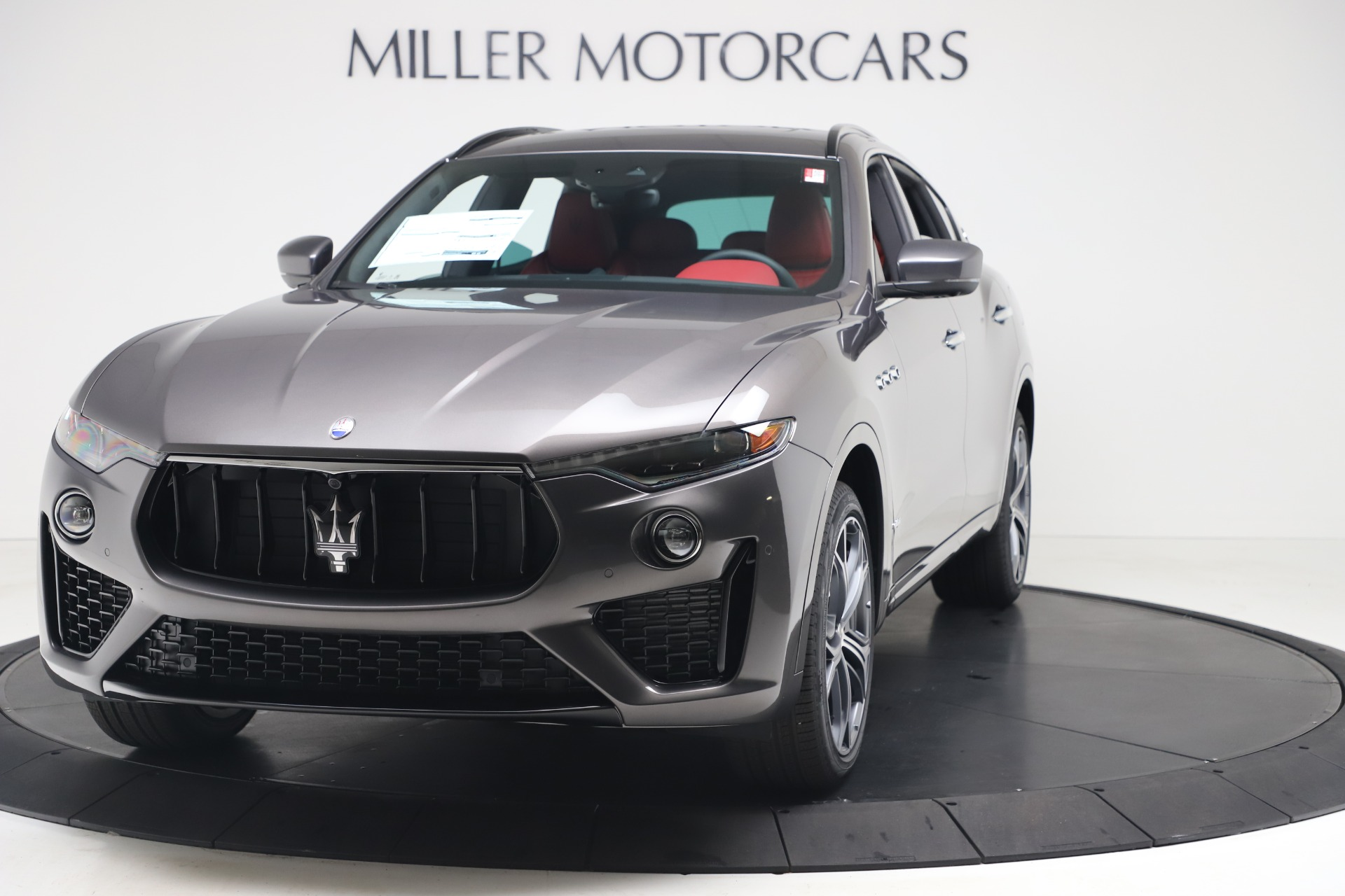 New 2020 Maserati Levante S Q4 GranSport for sale $101,535 at McLaren Greenwich in Greenwich CT 06830 1