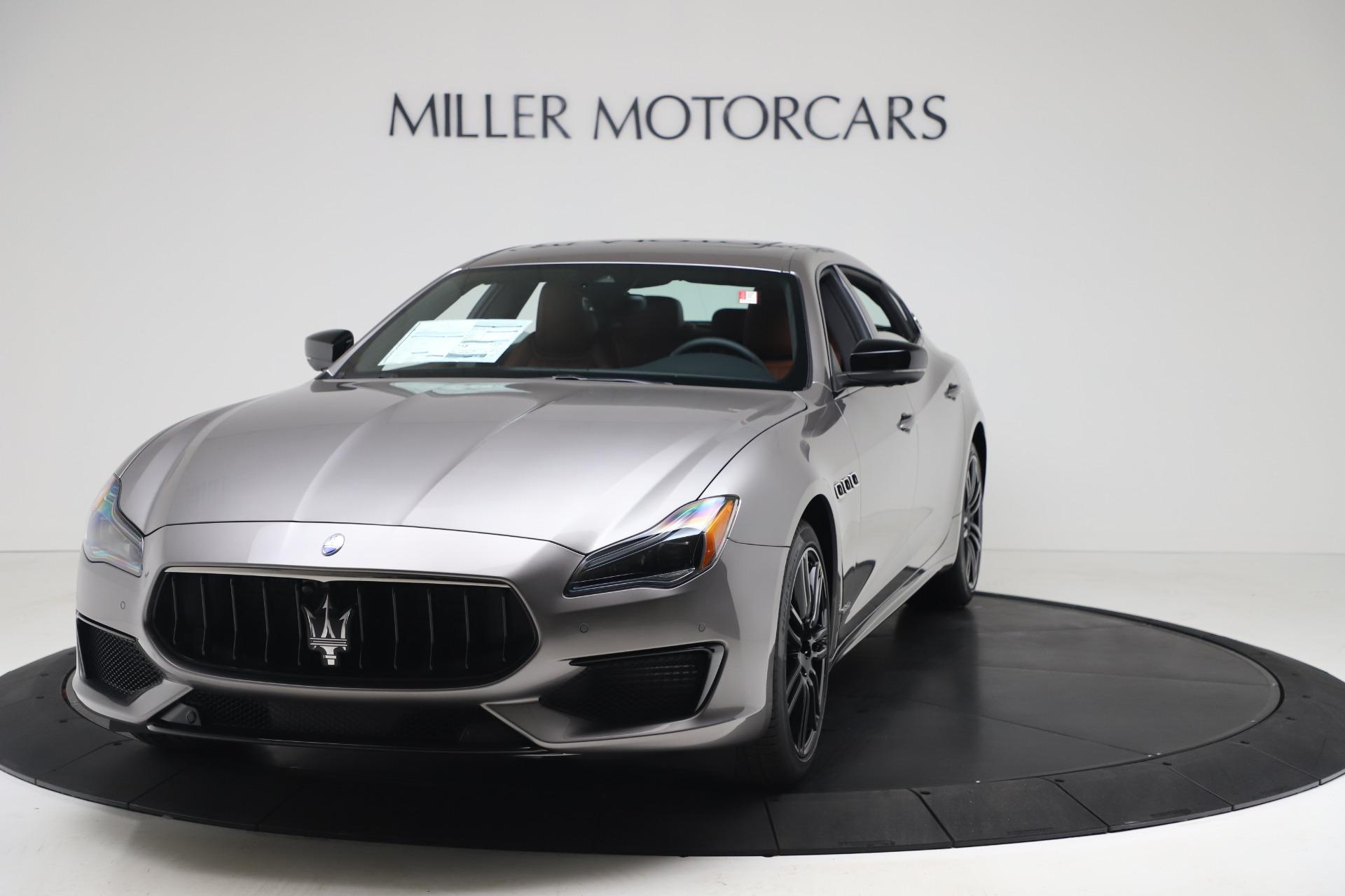 New 2020 Maserati Quattroporte S Q4 GranSport for sale $120,285 at McLaren Greenwich in Greenwich CT 06830 1