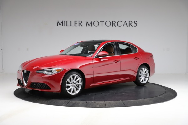 Used 2020 Alfa Romeo Giulia Q4 for sale Sold at McLaren Greenwich in Greenwich CT 06830 2