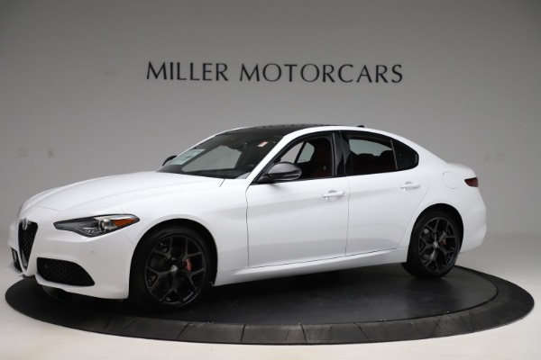 New 2020 Alfa Romeo Giulia Ti Sport Q4 for sale Call for price at McLaren Greenwich in Greenwich CT 06830 2