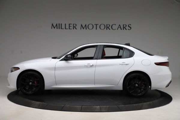 New 2020 Alfa Romeo Giulia Ti Sport Q4 for sale Call for price at McLaren Greenwich in Greenwich CT 06830 3