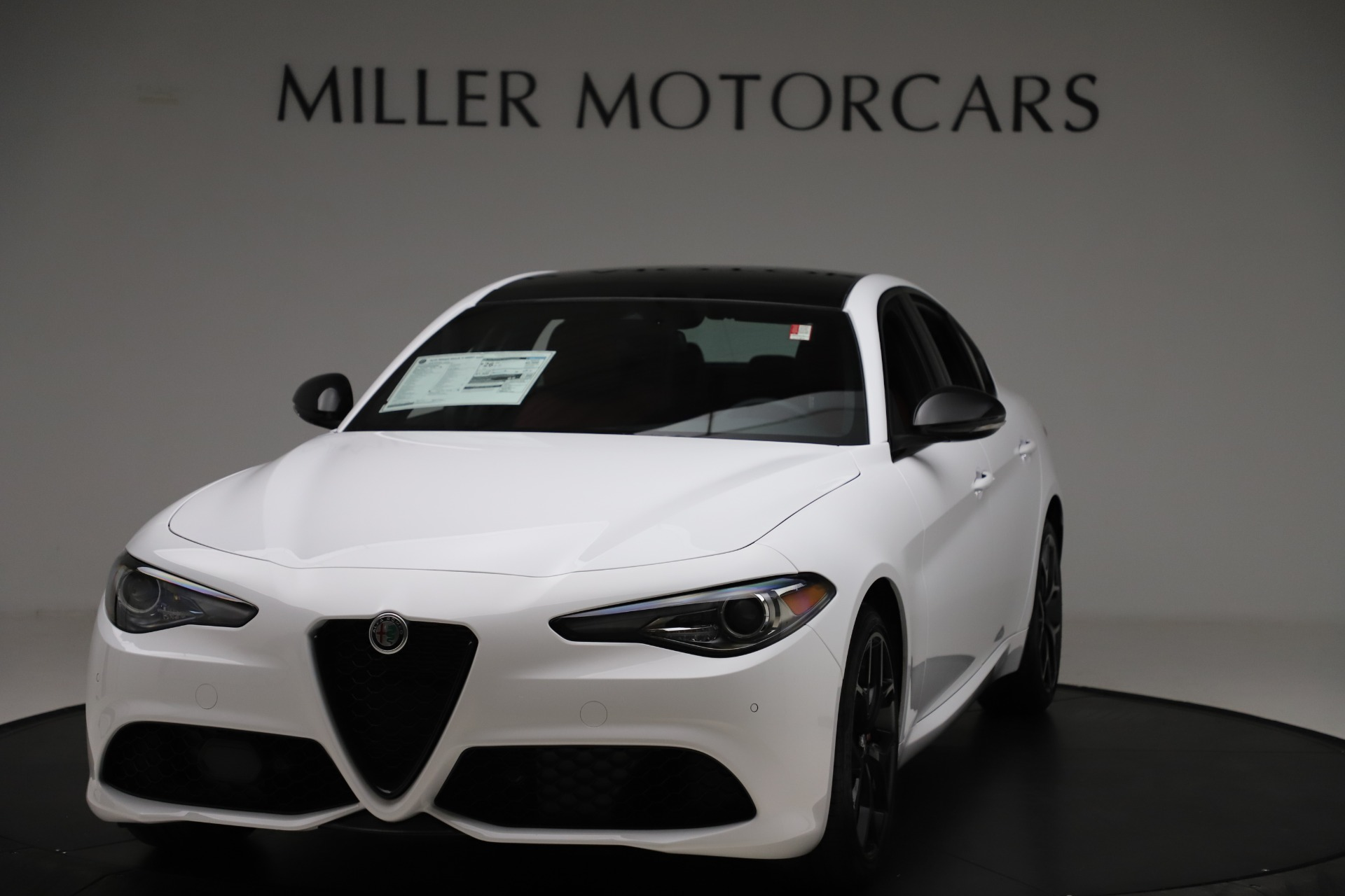 New 2020 Alfa Romeo Giulia Ti Sport Q4 for sale Call for price at McLaren Greenwich in Greenwich CT 06830 1