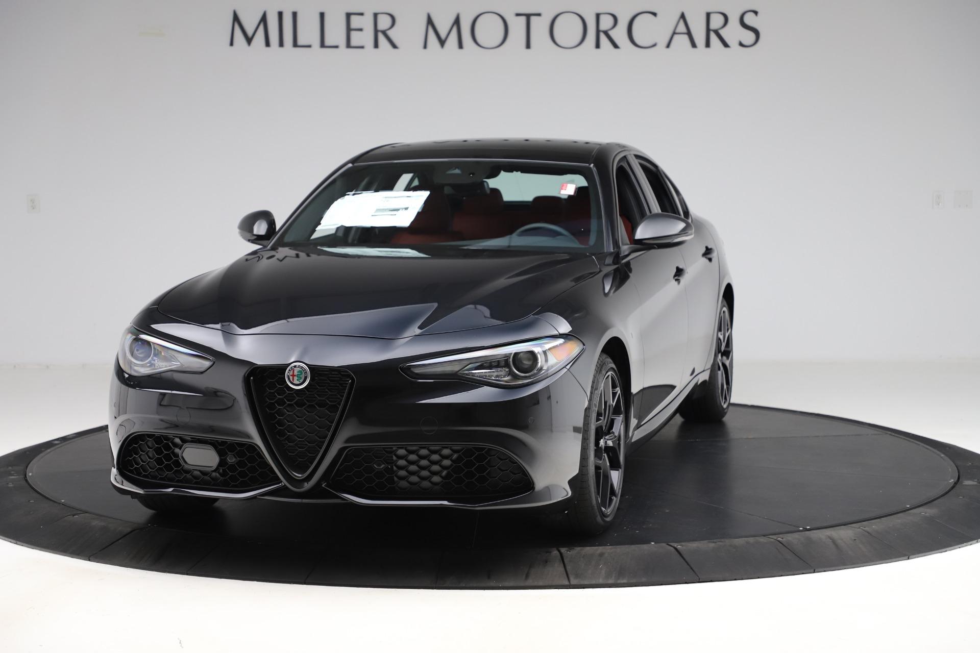 New 2020 Alfa Romeo Giulia Ti Sport Q4 for sale Sold at McLaren Greenwich in Greenwich CT 06830 1