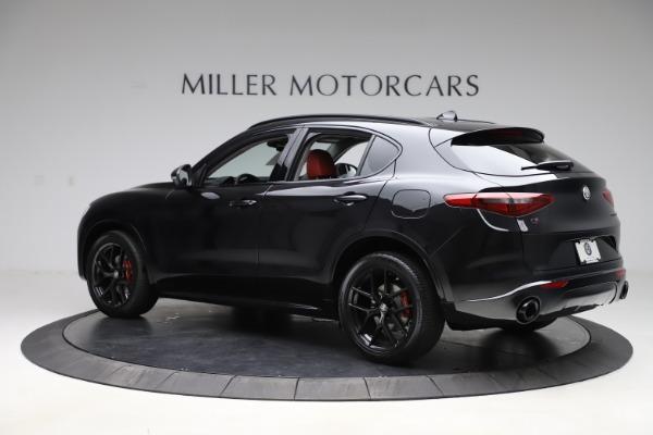 New 2020 Alfa Romeo Stelvio Sport Q4 for sale $50,795 at McLaren Greenwich in Greenwich CT 06830 4