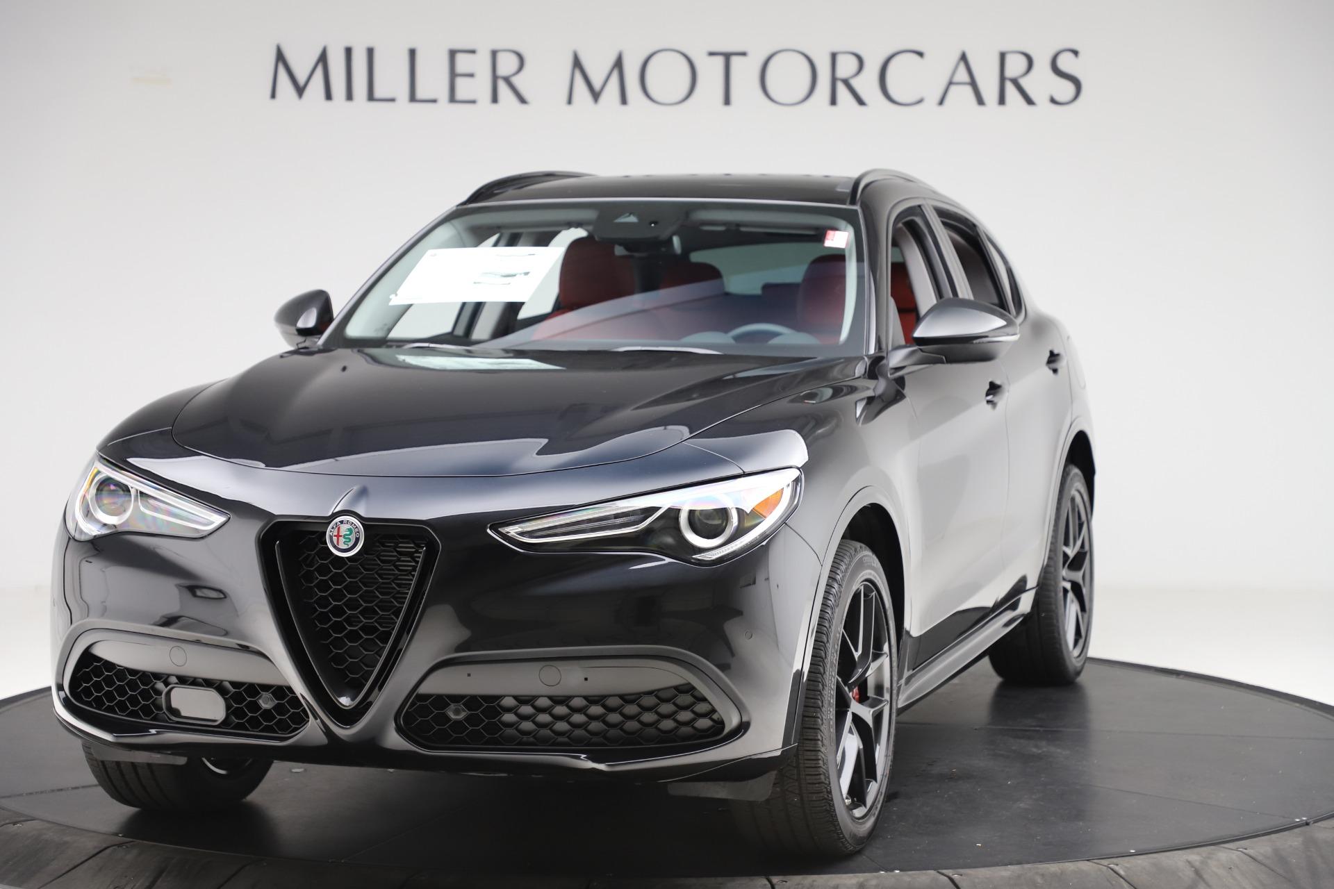 New 2020 Alfa Romeo Stelvio Sport Q4 for sale $50,795 at McLaren Greenwich in Greenwich CT 06830 1
