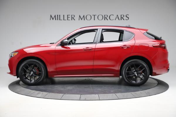 New 2020 Alfa Romeo Stelvio Sport Q4 for sale $50,495 at McLaren Greenwich in Greenwich CT 06830 3