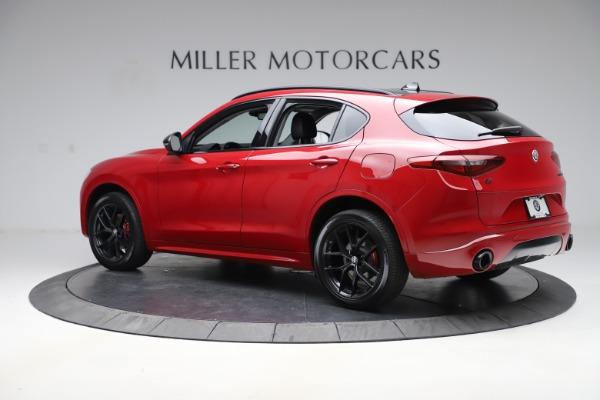 New 2020 Alfa Romeo Stelvio Sport Q4 for sale $50,495 at McLaren Greenwich in Greenwich CT 06830 4