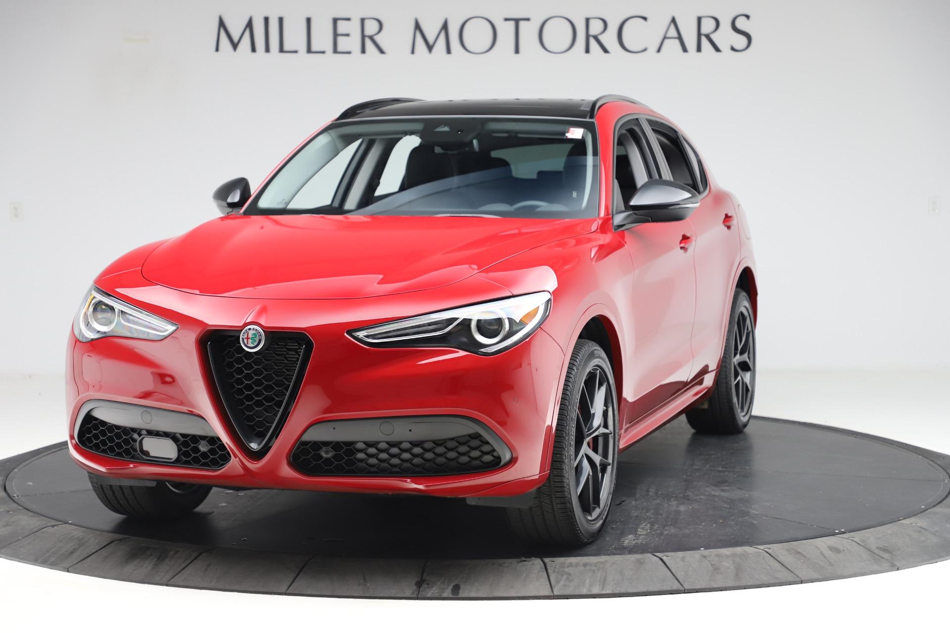 New 2020 Alfa Romeo Stelvio Sport Q4 for sale $50,495 at McLaren Greenwich in Greenwich CT 06830 1