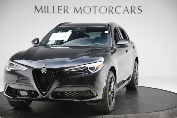 New 2020 Alfa Romeo Stelvio Ti Sport Q4 for sale $55,345 at McLaren Greenwich in Greenwich CT 06830 1