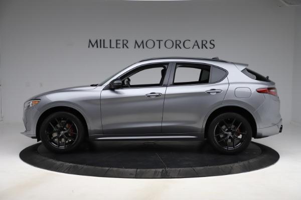 New 2020 Alfa Romeo Stelvio Sport Q4 for sale $51,095 at McLaren Greenwich in Greenwich CT 06830 3