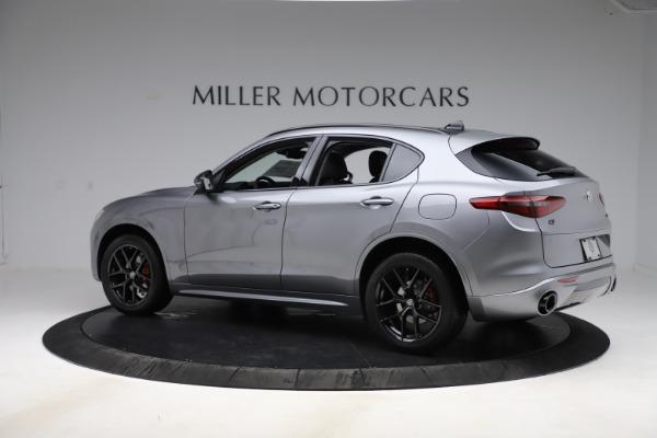 New 2020 Alfa Romeo Stelvio Sport Q4 for sale $51,095 at McLaren Greenwich in Greenwich CT 06830 4