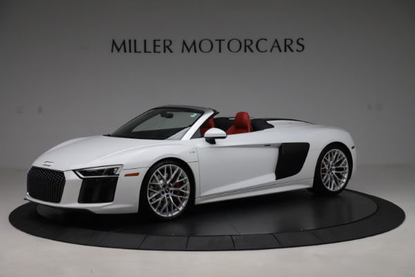 Used 2017 Audi R8 5.2 quattro V10 Spyder for sale $138,900 at McLaren Greenwich in Greenwich CT 06830 2