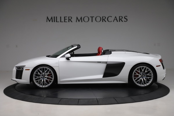Used 2017 Audi R8 5.2 quattro V10 Spyder for sale $138,900 at McLaren Greenwich in Greenwich CT 06830 3