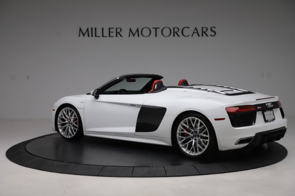 Used 2017 Audi R8 5.2 quattro V10 Spyder for sale $138,900 at McLaren Greenwich in Greenwich CT 06830 4