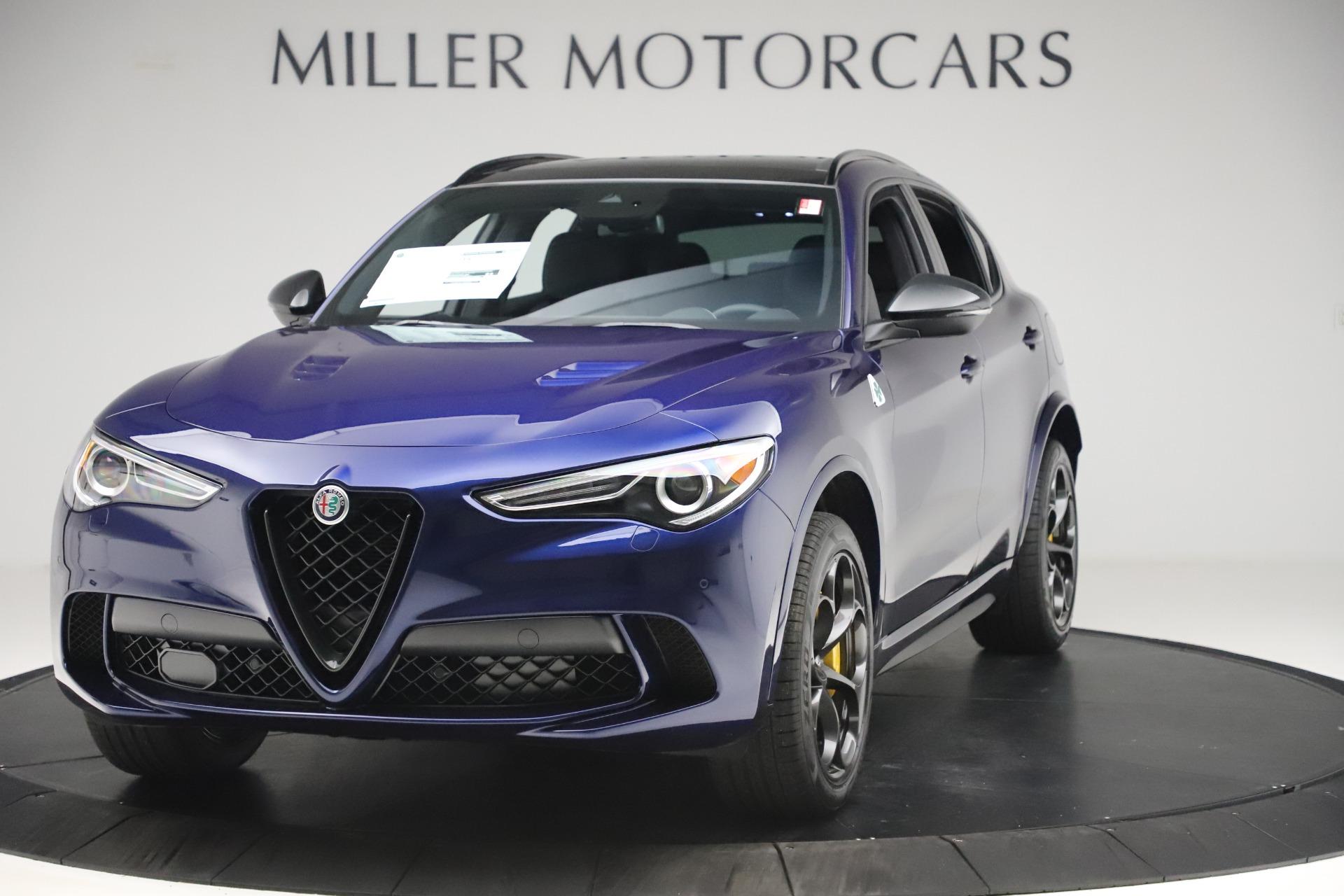New 2020 Alfa Romeo Stelvio Quadrifoglio for sale Sold at McLaren Greenwich in Greenwich CT 06830 1