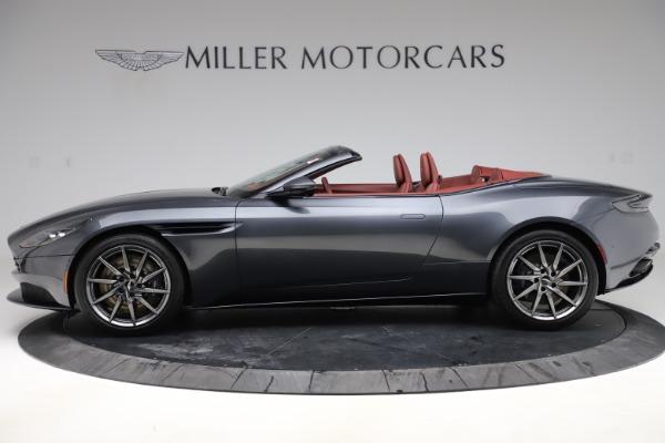 New 2020 Aston Martin DB11 Volante Convertible for sale $263,681 at McLaren Greenwich in Greenwich CT 06830 4