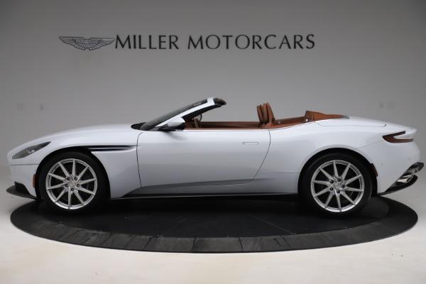 New 2020 Aston Martin DB11 Volante Convertible for sale $244,066 at McLaren Greenwich in Greenwich CT 06830 4