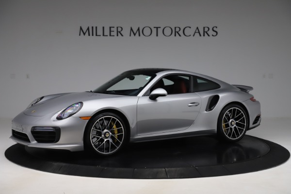 Used 2017 Porsche 911 Turbo S for sale $154,900 at McLaren Greenwich in Greenwich CT 06830 2