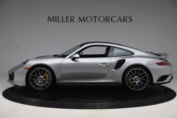 Used 2017 Porsche 911 Turbo S for sale $154,900 at McLaren Greenwich in Greenwich CT 06830 3