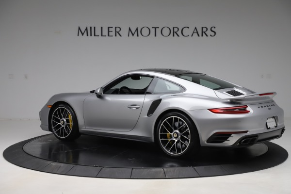 Used 2017 Porsche 911 Turbo S for sale $154,900 at McLaren Greenwich in Greenwich CT 06830 4