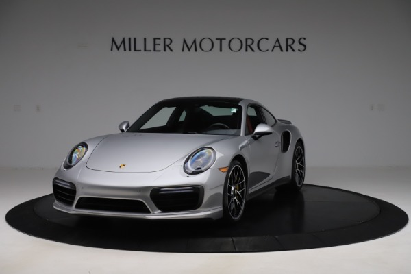 Used 2017 Porsche 911 Turbo S for sale $154,900 at McLaren Greenwich in Greenwich CT 06830 1