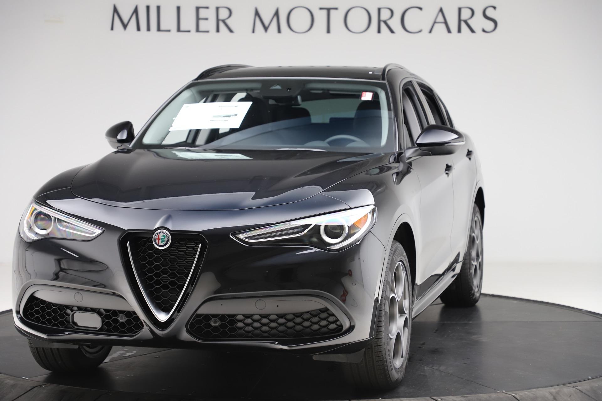 New 2020 Alfa Romeo Stelvio Sport Q4 for sale Sold at McLaren Greenwich in Greenwich CT 06830 1