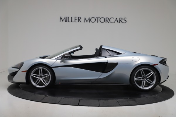 New 2020 McLaren 570S Spider Convertible for sale $256,990 at McLaren Greenwich in Greenwich CT 06830 2