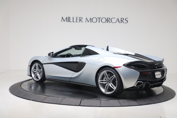 New 2020 McLaren 570S Spider Convertible for sale $256,990 at McLaren Greenwich in Greenwich CT 06830 3