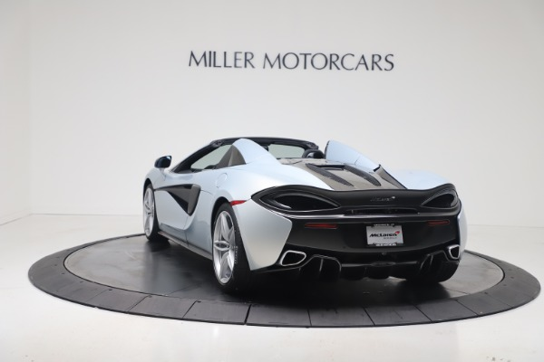 New 2020 McLaren 570S Spider Convertible for sale $256,990 at McLaren Greenwich in Greenwich CT 06830 4