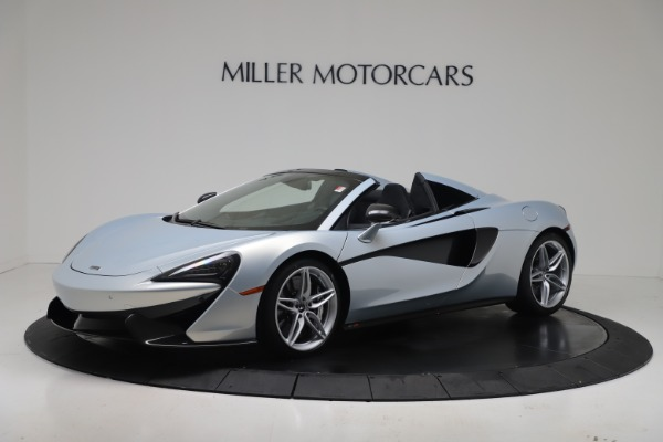 New 2020 McLaren 570S Spider Convertible for sale $256,990 at McLaren Greenwich in Greenwich CT 06830 1