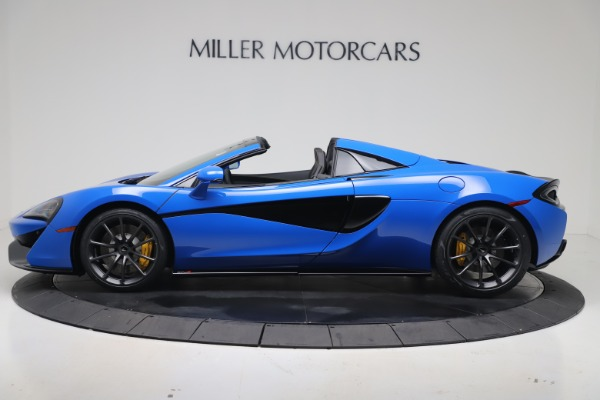 New 2020 McLaren 570S Spider Convertible for sale $236,270 at McLaren Greenwich in Greenwich CT 06830 2