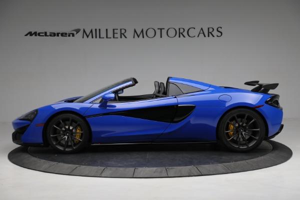 New 2020 McLaren 570S Spider Convertible for sale $236,270 at McLaren Greenwich in Greenwich CT 06830 3