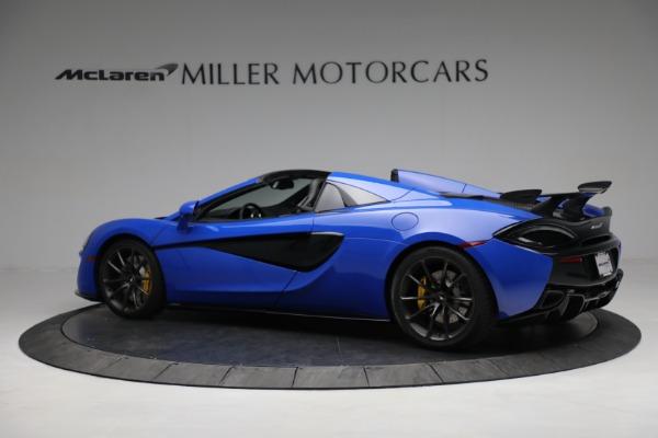 New 2020 McLaren 570S Spider Convertible for sale $236,270 at McLaren Greenwich in Greenwich CT 06830 4