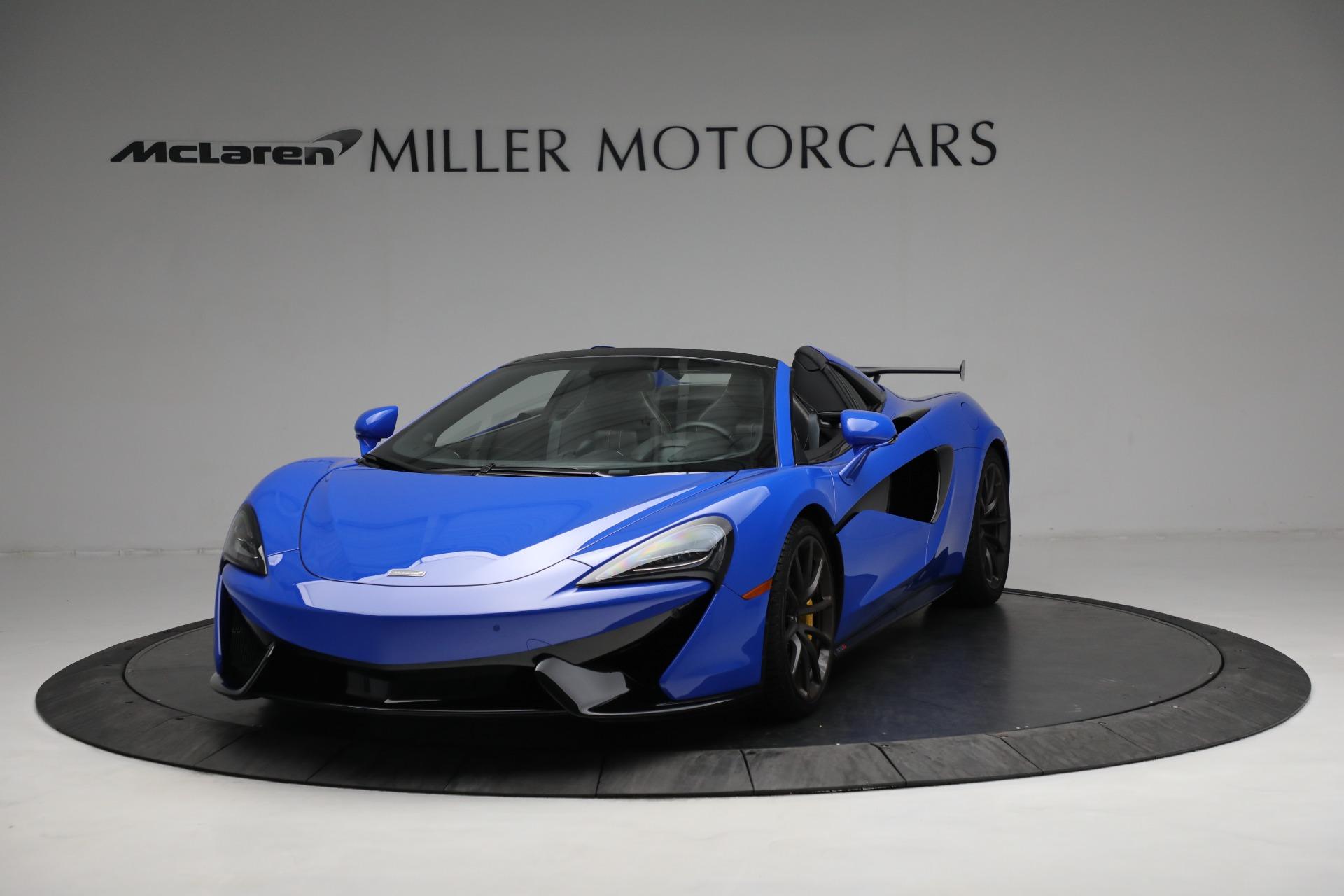 New 2020 McLaren 570S Spider Convertible for sale $236,270 at McLaren Greenwich in Greenwich CT 06830 1
