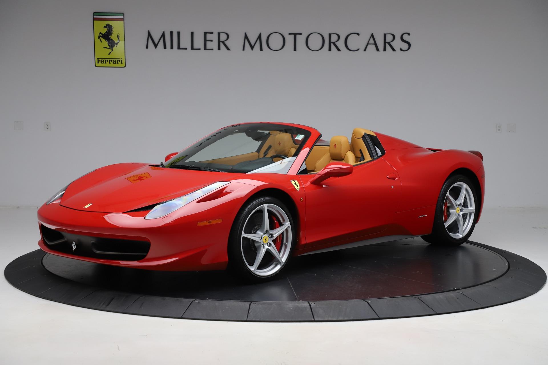 Pre Owned 2015 Ferrari 458 Spider For Sale 234 900 Mclaren Greenwich Stock 4666a