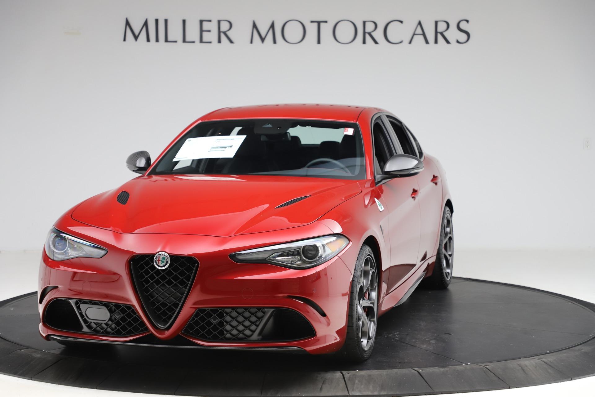 New 2020 Alfa Romeo Giulia Quadrifoglio for sale $83,590 at McLaren Greenwich in Greenwich CT 06830 1