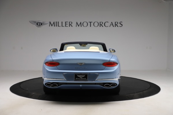 New 2020 Bentley Continental GTC V8 for sale $261,455 at McLaren Greenwich in Greenwich CT 06830 4