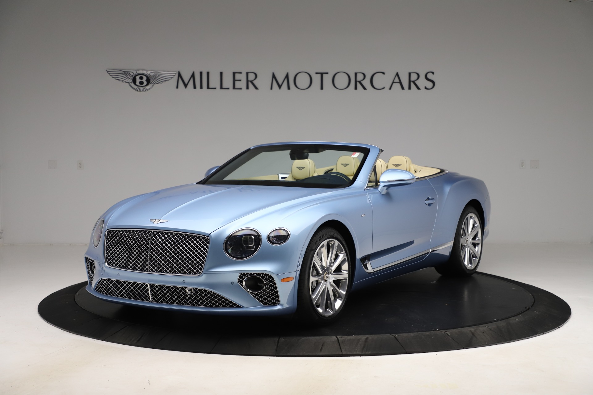 New 2020 Bentley Continental GTC V8 for sale $261,455 at McLaren Greenwich in Greenwich CT 06830 1
