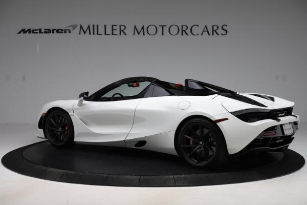 New 2020 McLaren 720S Spider Performance for sale $386,289 at McLaren Greenwich in Greenwich CT 06830 3