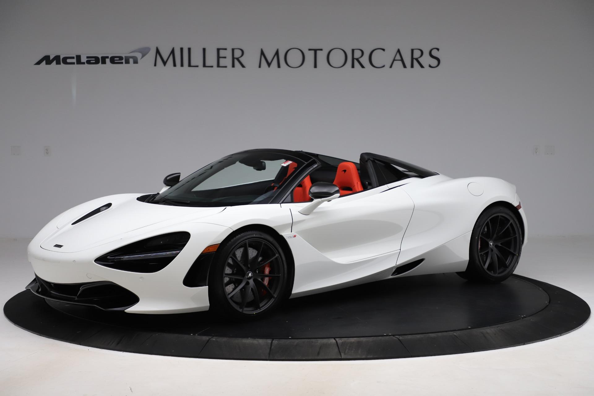 New 2020 McLaren 720S Spider Performance for sale $386,289 at McLaren Greenwich in Greenwich CT 06830 1