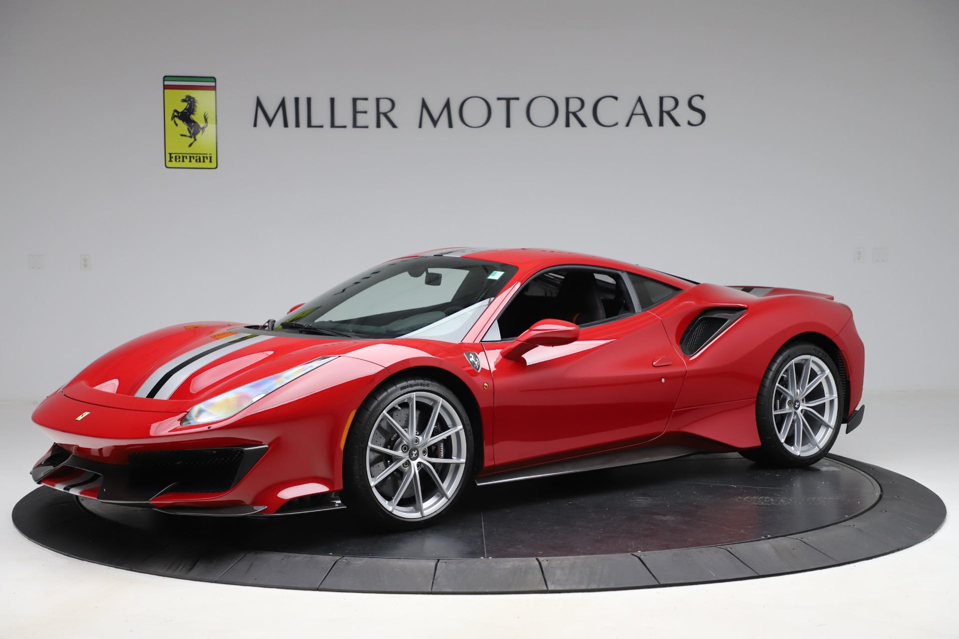 Pre Owned 2020 Ferrari 488 Pista For Sale Special Pricing Mclaren Greenwich Stock 4677c