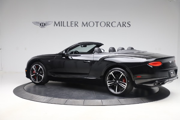 New 2020 Bentley Continental GTC V8 for sale $255,605 at McLaren Greenwich in Greenwich CT 06830 4