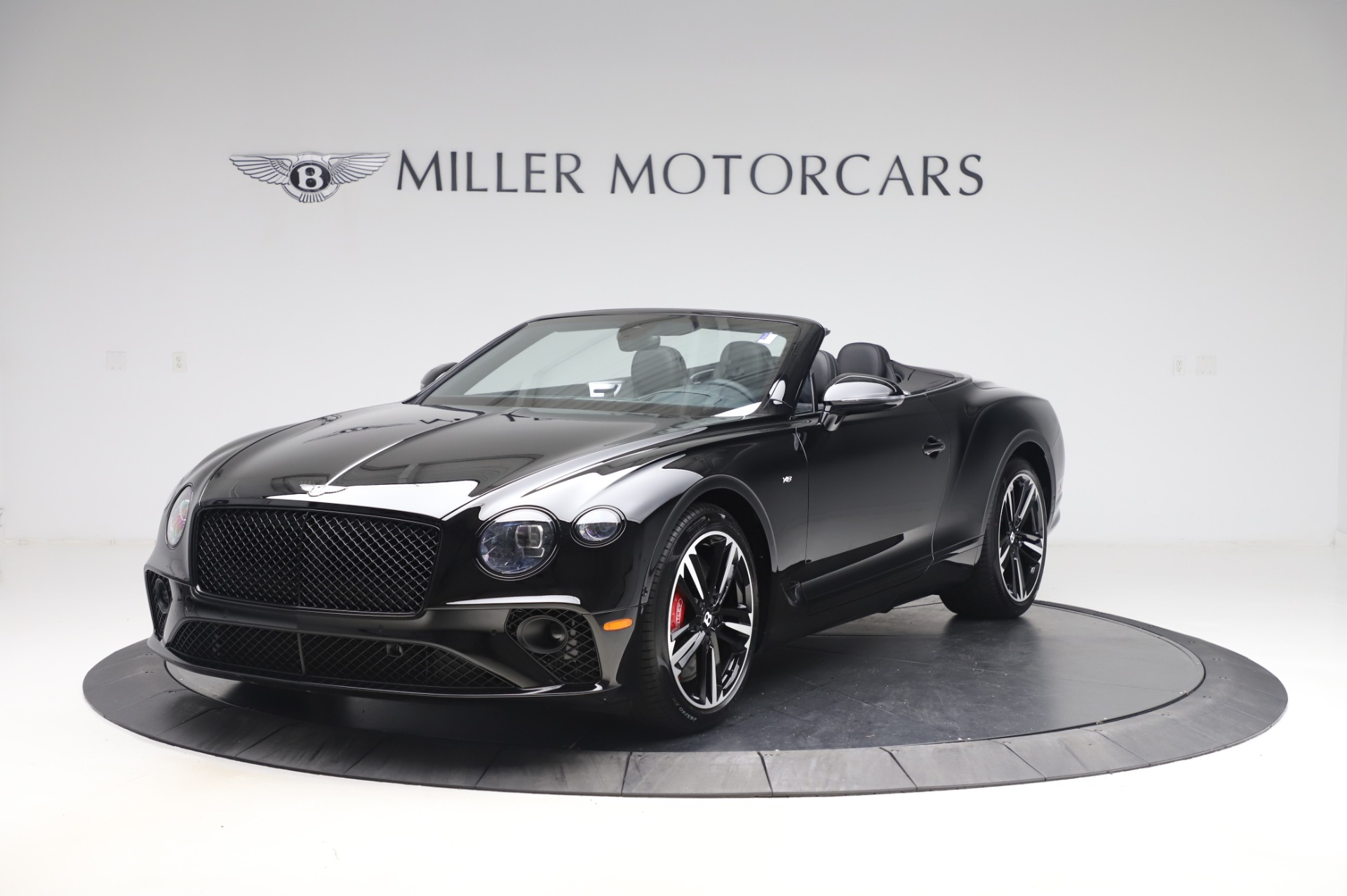 New 2020 Bentley Continental GTC V8 for sale $255,605 at McLaren Greenwich in Greenwich CT 06830 1