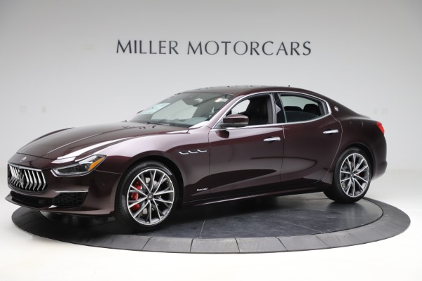 New 2020 Maserati Ghibli S Q4 GranLusso for sale $94,335 at McLaren Greenwich in Greenwich CT 06830 2