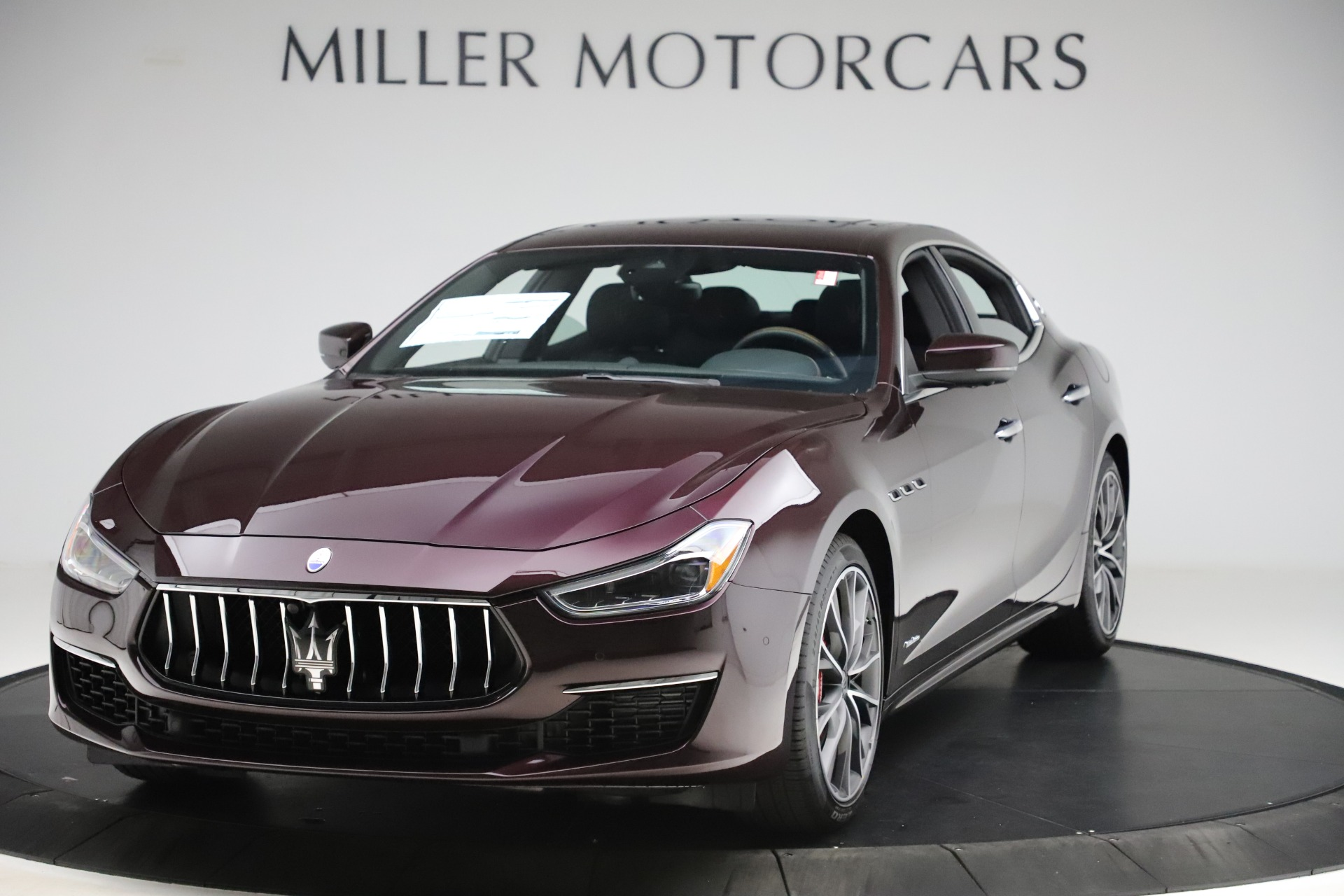 New 2020 Maserati Ghibli S Q4 GranLusso for sale $94,335 at McLaren Greenwich in Greenwich CT 06830 1